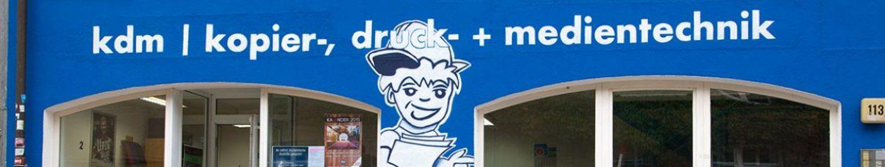 kdm | kopier-, druck- + medientechnik GmbH